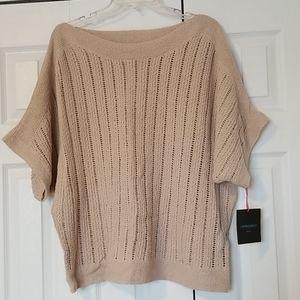 NWT Cynthia Rowley Knit Dollman Sleeve Sweater